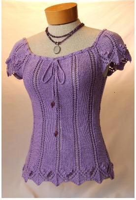 Designer Knitting Patterns Free : Ladies Pullovers